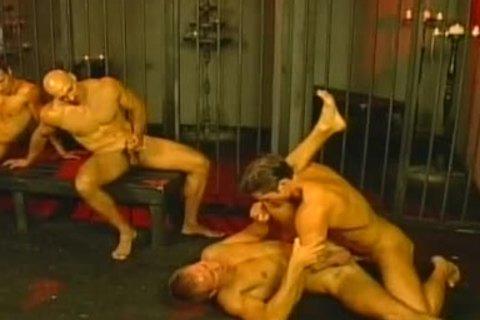 yielding And female-mastere inantnt homosexual mans fuck In Love Dungeon