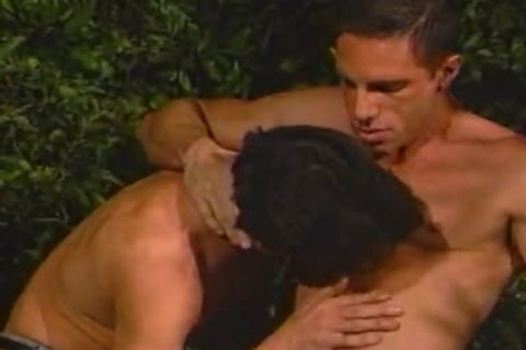 Jackson And Allen enjoy guy Love In The Trees