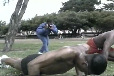 lustful black men assboneing After Workout At Tthellos man Park
