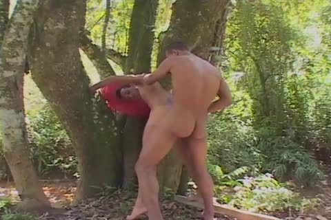gay Outdoor fantasy sucking And fucking