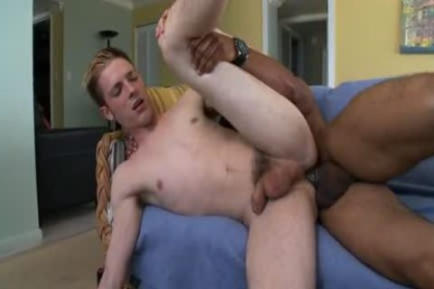 White twink plowed by humongous black knob