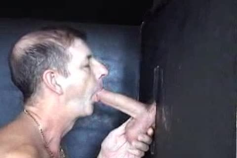 Straight chap in gloryhole