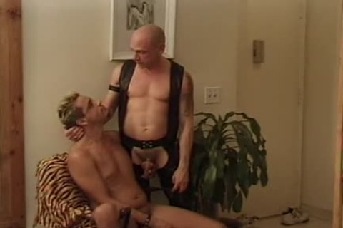 Leather Wolf - Scene two - Macho guy video