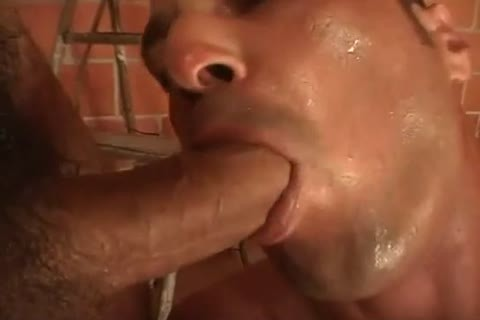 lustful muscled construction workers after w ...