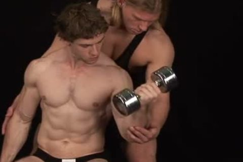 Bodybuilders ace fuck