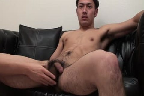 Hairy Muscle man squirting his urine and semen