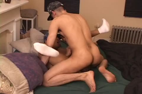 White boy fucsk his ebony lovers tight asshole