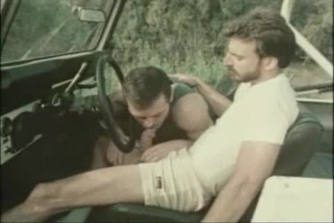 Vintage bj In A Car