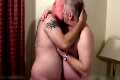 Two sleazy daddies in bedroom