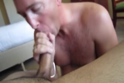 sucking mpooperive Uncut Navy ramrod