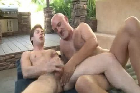 Jake Cruise plows Vance Crawford