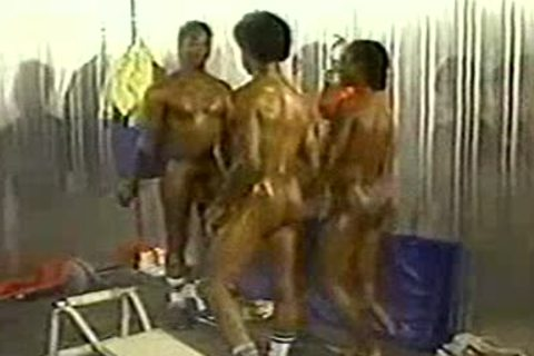 black homosexual Gym Sex