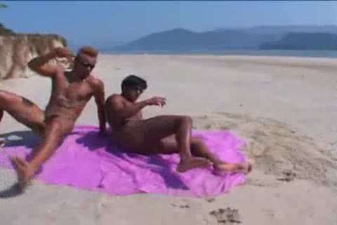 Brazilian guys On The Beach