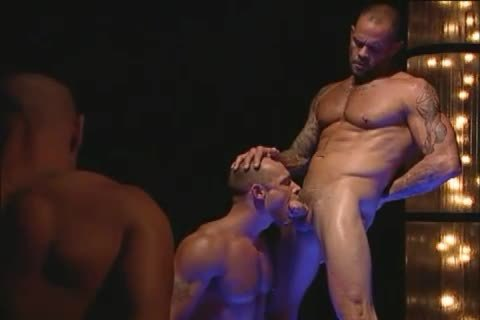 big Muscle Hunks Have blow job-job & Rimmjob