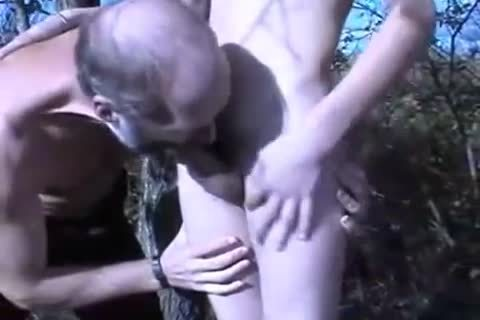 old guy band sexing younger twink Outdoor