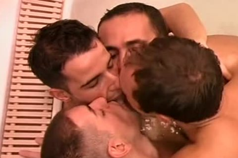 yummy homosexual sauna band sex