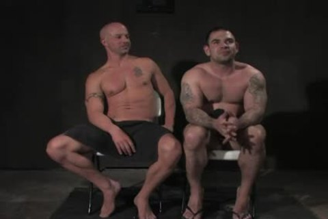 Baldheaded gay poked By Cop In servitude
