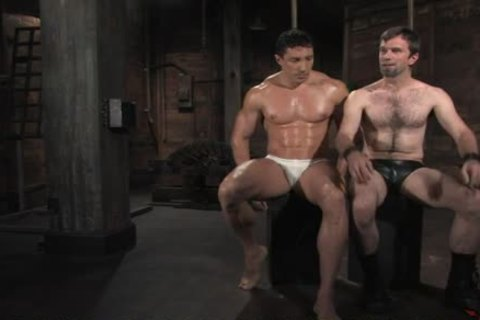 tied Up Hunk Giving Tgreetingss gay twink A nasty blow job-stimulation