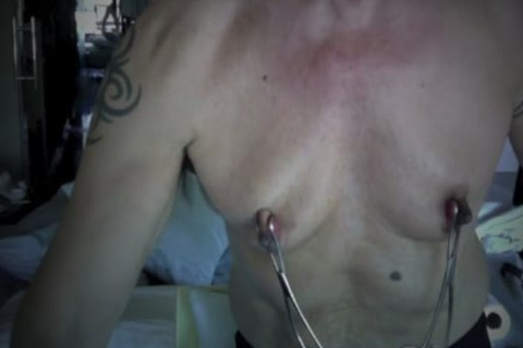 Latino fellow Works Over hellos Pumped Nip N *****ps Clamping