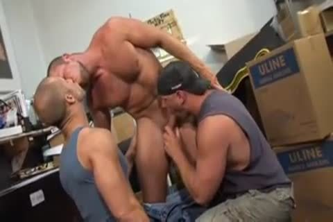 Unforgettable Scenes Of perfect banging From 3some Body Builders