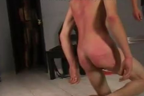 lustful boy Spanks him So Hard