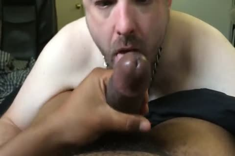 Pup Parker sucking & throating dominant Mac's throbbing black jock