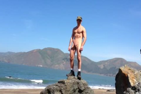 Beach jerk off Xxl plowr Squirt