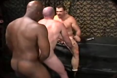 Interracial BB gay orgy