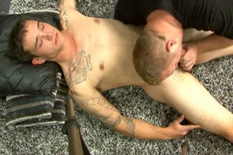 Inked knob Serviced By gay man