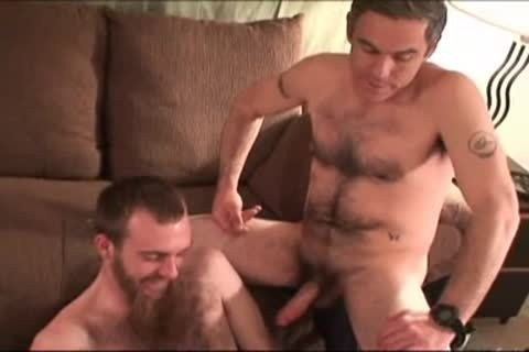 dad And Not his Bearded Son banging