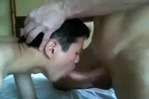 exposedback Interacial asian And White Eat love juice
