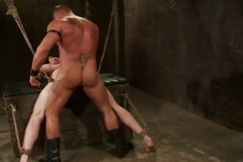 First-Timer Ben wishs Being Teased And bound By Leather master