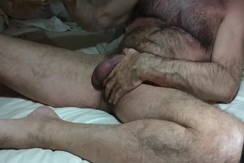 Excerpts From An Evening Of Self Ball Busting, With A spooge shot At The End.