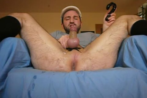 Playing Around With Some dildos And Jerking My Prostate To A love juice Explosion