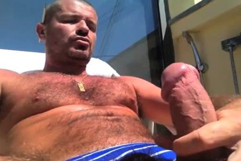 TIERY B. // PHOTO-PORNO-GRAPHER - Copyright / naughty lad Servicing And Worshiping A gigantic schlong In Summer's Heat