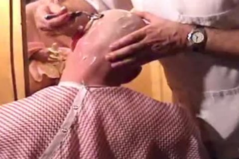 This Harder Treats His Client Well  blowjob Shave Bald Sex Her Off II