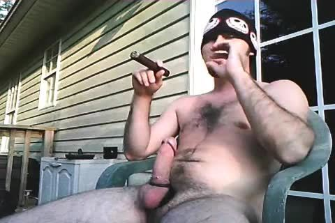 one more daddy video Of Me Stroking Outside When I Lived In Alabama. Just Enjoying A admirable Cigar And Being A man!
