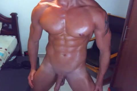 naughty guy On webcam Dance And jack off