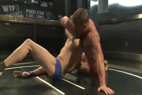 Two young males Wrestle In The nude previous to nail