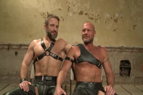 Chad Brock And Dirk Caber In lusty thraldom Action