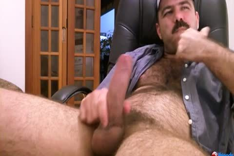 bushy boy Solo jerking off