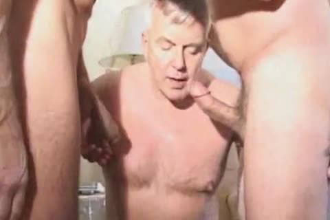 daddy daddy Suit Silver Daddy Have good Sex In Hotel Room