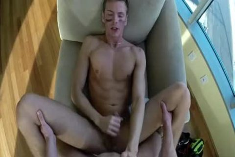 HD MenPOV - Sporty Hunk get fucked By His