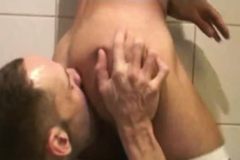 Insatiable Bottom Alejandro Alvarez Is Back For another booty drilling, This Time By The Curved penis Of Top-man Joe Bexter.