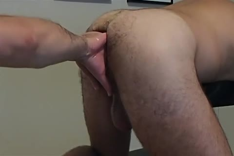 Sir Enjoying Himself Using His Fist, dildo, Plugs And monstrous Bullet To Wreck My cunt For His joy.  Just one more fun Afternoon For My Sir Making Me