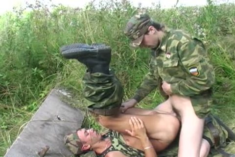 A homosexual Soldier Is slammed By His Boss