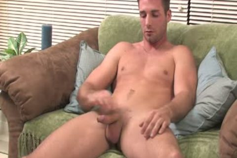 chap Moans From joy whilst Jerking His gigantic chubby penis