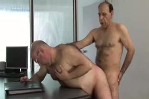 Grandpas hammering - Male Porn clips, Male