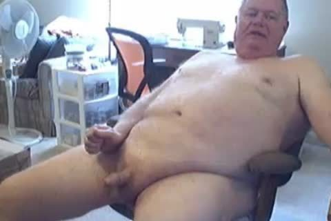grand-dad jack off And love juice On cam