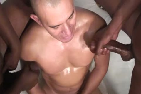 darksome dudes Sharing A Bald dude